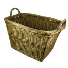 Log Basket Country - Large